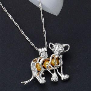 Jewelry - COPY - SALE! Disney Lion King Simba pearl cage ne…